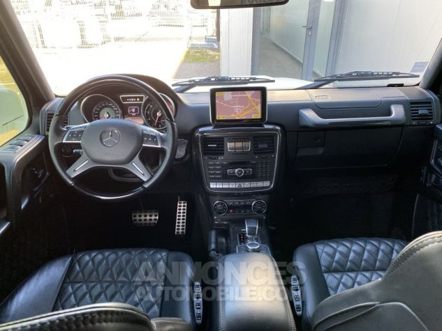 Mercedes Classe G 63 AMG LONG 7G-TRONIC SPEEDSHIFT PLUS BLANC DIAMANT NACRE Occasion - 13