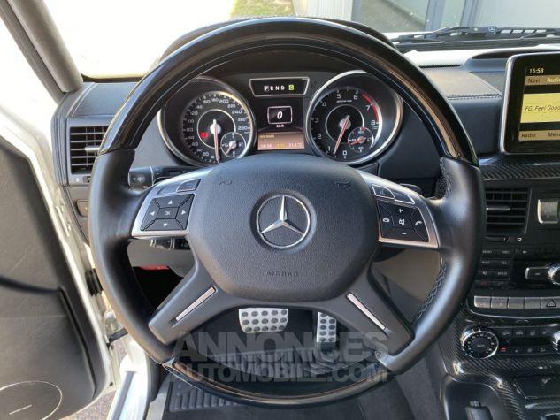 Mercedes Classe G 63 AMG LONG 7G-TRONIC SPEEDSHIFT PLUS BLANC DIAMANT NACRE Occasion - 14