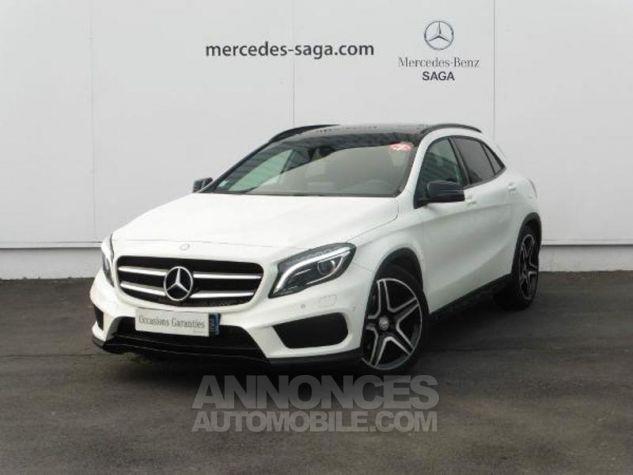 Mercedes Classe GLA 180 d Fascination 7G-DCT Blanc Occasion - 0