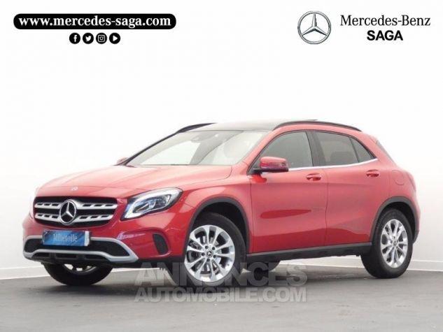 Mercedes Classe GLA 180 d Inspiration 7G-DCT Rouge Jupiter Occasion - 0