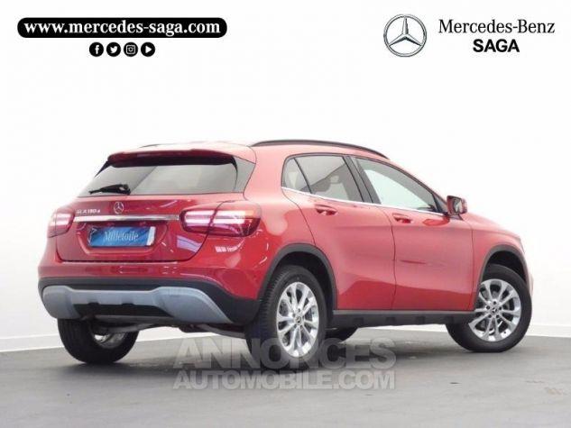 Mercedes Classe GLA 180 d Inspiration 7G-DCT Rouge Jupiter Occasion - 1