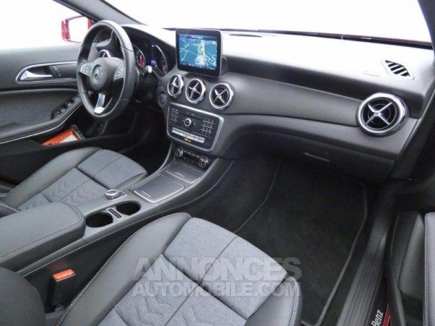 Mercedes Classe GLA 180 d Inspiration 7G-DCT Rouge Jupiter Occasion - 4