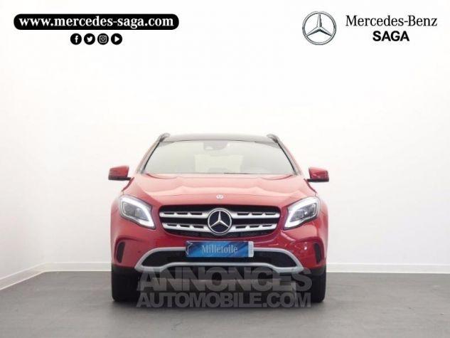 Mercedes Classe GLA 180 d Inspiration 7G-DCT Rouge Jupiter Occasion - 5