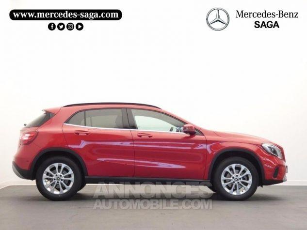 Mercedes Classe GLA 180 d Inspiration 7G-DCT Rouge Jupiter Occasion - 6