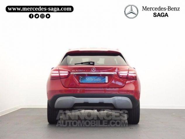 Mercedes Classe GLA 180 d Inspiration 7G-DCT Rouge Jupiter Occasion - 7