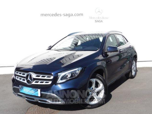 Mercedes Classe GLA 180 d Sensation 7G-DCT Bleu Cavansite Occasion - 0