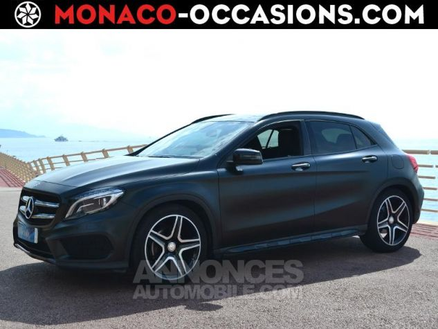 Mercedes Classe GLA 200 CDI Fascination 4Matic 7G-DCT Gris Mate Covering/ Blanc orig Occasion - 0