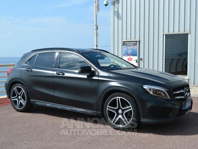 Mercedes Classe GLA 200 CDI Fascination 4Matic 7G-DCT Gris Mate Covering/ Blanc orig Occasion - 2