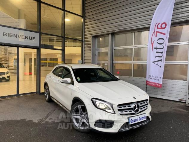 Mercedes Classe GLA 200 d Fascination 7G-DCT Blanc cirrus Occasion - 0