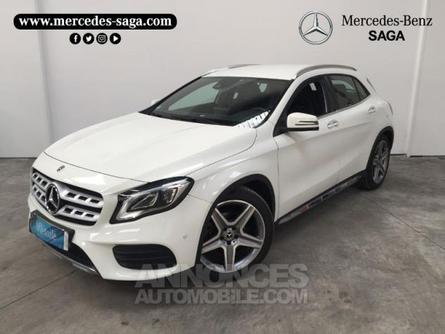 Mercedes Classe GLA 200 d Fascination 7G-DCT Blanc Cirrus Occasion - 0