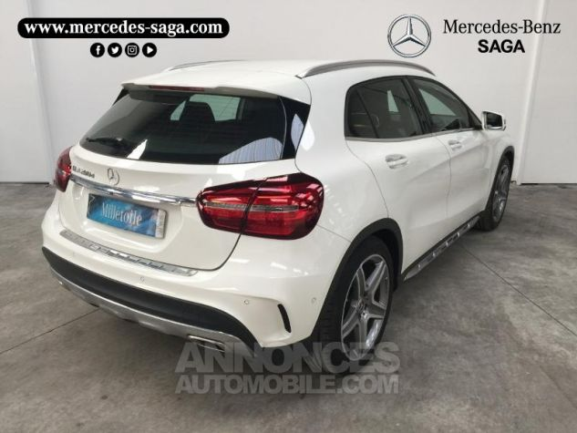 Mercedes Classe GLA 200 d Fascination 7G-DCT Blanc Cirrus Occasion - 1