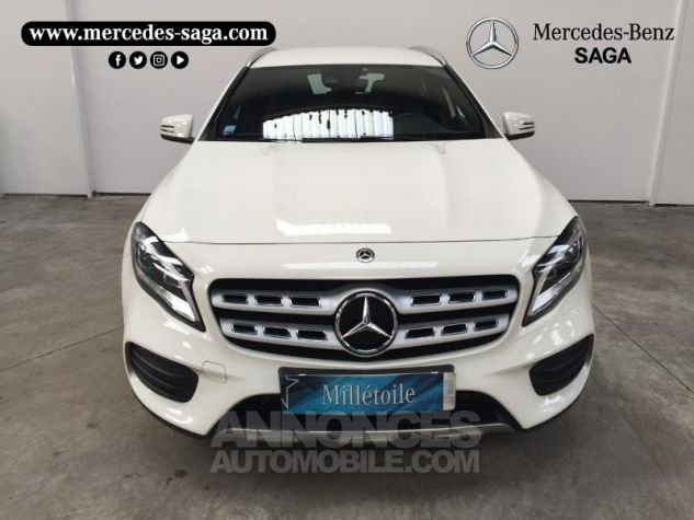 Mercedes Classe GLA 200 d Fascination 7G-DCT Blanc Cirrus Occasion - 2