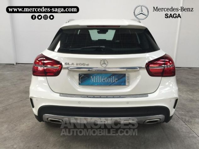 Mercedes Classe GLA 200 d Fascination 7G-DCT Blanc Cirrus Occasion - 3