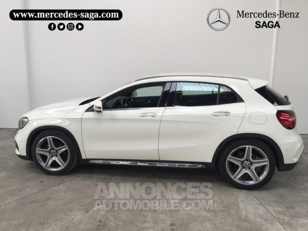 Mercedes Classe GLA 200 d Fascination 7G-DCT Blanc Cirrus Occasion - 4