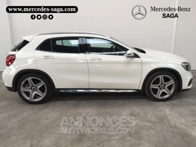 Mercedes Classe GLA 200 d Fascination 7G-DCT Blanc Cirrus Occasion - 5