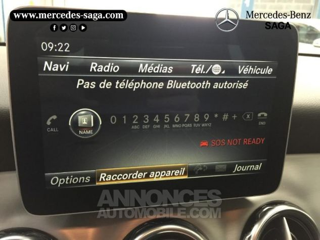 Mercedes Classe GLA 200 d Fascination 7G-DCT Blanc Cirrus Occasion - 14