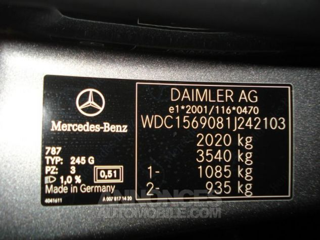 Mercedes Classe GLA 200 d Inspiration gris montagne metal Occasion - 12