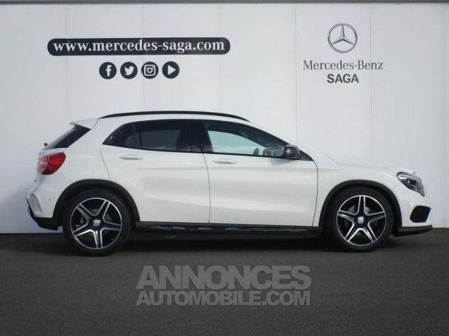 Mercedes Classe GLA 220 CDI Fascination 4Matic 7G-DCT blanc cirrus Occasion - 6