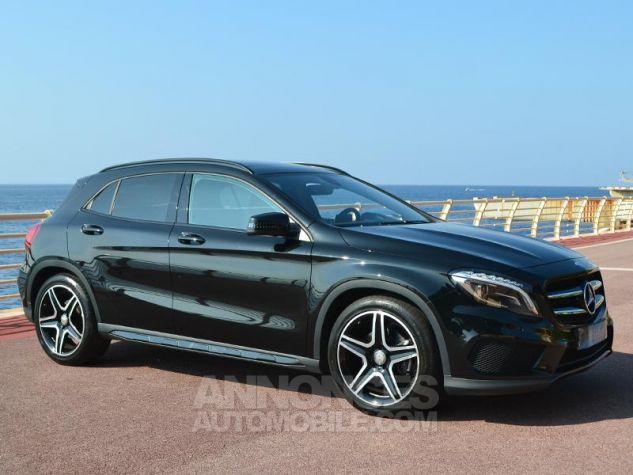 Mercedes Classe GLA 220 d Fascination 4Matic 7G-DCT Noir Occasion - 2
