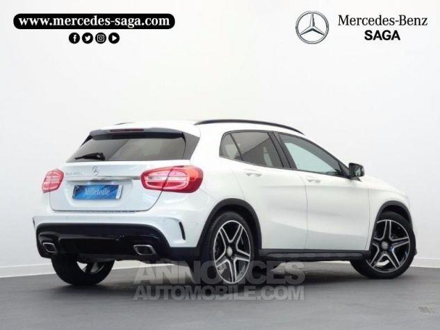 Mercedes Classe GLA 220 d Fascination 7G-DCT Blanc Cirrus Occasion - 1