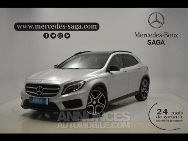 Mercedes Classe GLA 220 d Fascination 7G-DCT ARGENT POLAIRE Occasion - 0
