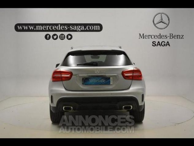 Mercedes Classe GLA 220 d Fascination 7G-DCT ARGENT POLAIRE Occasion - 3