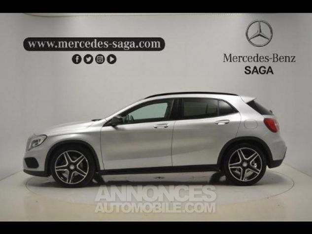 Mercedes Classe GLA 220 d Fascination 7G-DCT ARGENT POLAIRE Occasion - 12