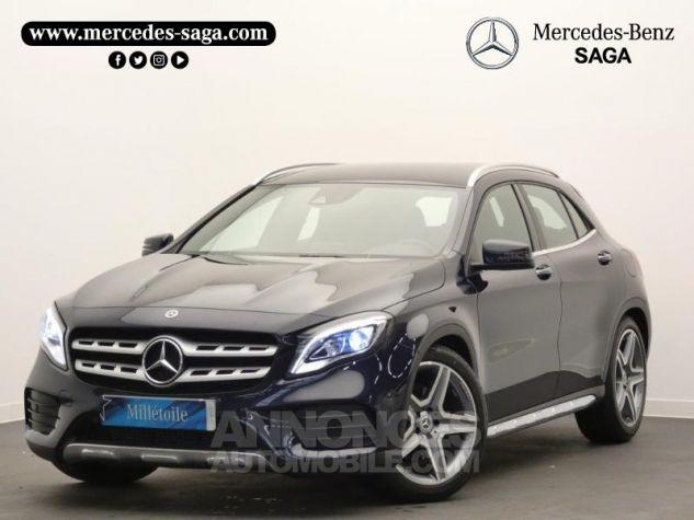 Mercedes Classe GLA 220 d Fascination 7G-DCT Bleu Cavansite Occasion - 0