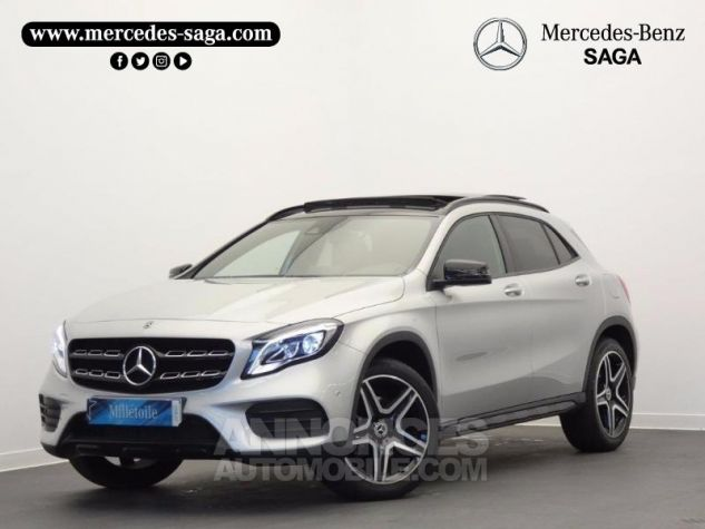 Mercedes Classe GLA 250 Fascination 4Matic 7G-DCT Argent Polaire Occasion - 0