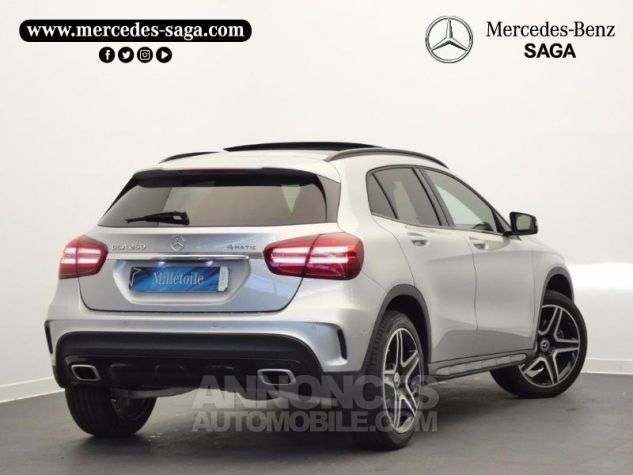 Mercedes Classe GLA 250 Fascination 4Matic 7G-DCT Argent Polaire Occasion - 1