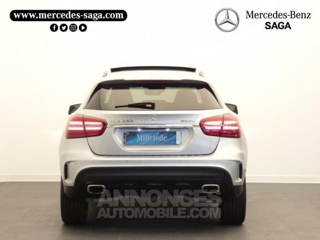 Mercedes Classe GLA 250 Fascination 4Matic 7G-DCT Argent Polaire Occasion - 7