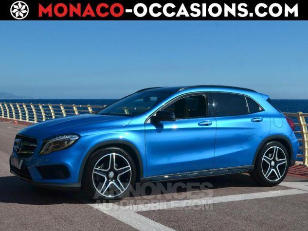 Mercedes Classe GLA 250 Fascination 7G-DCT Bleu des Mers du Sud Occasion - 0
