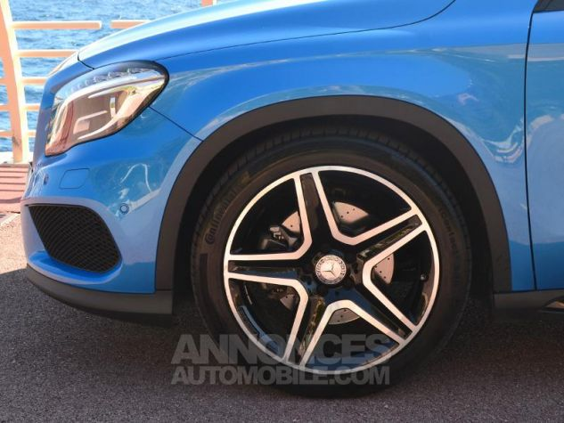 Mercedes Classe GLA 250 Fascination 7G-DCT Bleu des Mers du Sud Occasion - 4