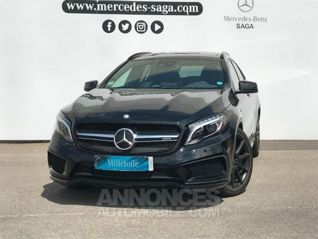 Mercedes Classe GLA 45 AMG 381ch 4Matic Speedshift DCT AMG ZP NOIR COSMOS Occasion - 0