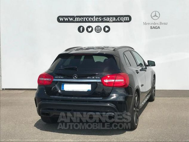Mercedes Classe GLA 45 AMG 381ch 4Matic Speedshift DCT AMG ZP NOIR COSMOS Occasion - 4