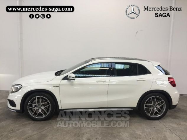 Mercedes Classe GLA 45 AMG 4Matic Speedshift DCT BLANC CIRRUS Occasion - 3