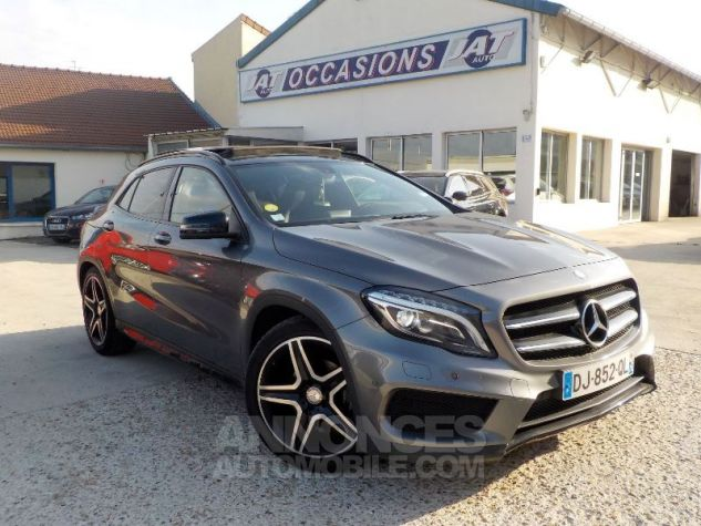 Mercedes Classe GLA X156 200 CDI FASCINATION 4MATIC 7G-DCT GRIS FONCE Occasion - 0