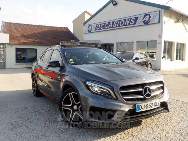 Mercedes Classe GLA X156 200 CDI FASCINATION 4MATIC 7G-DCT GRIS FONCE Occasion - 1