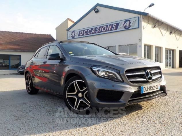 Mercedes Classe GLA X156 200 CDI FASCINATION 4MATIC 7G-DCT GRIS FONCE Occasion - 2