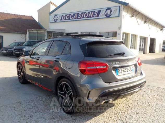 Mercedes Classe GLA X156 200 CDI FASCINATION 4MATIC 7G-DCT GRIS FONCE Occasion - 8