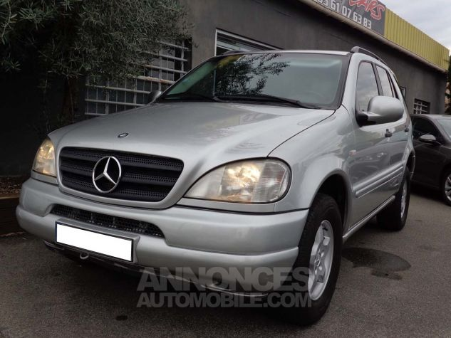 Mercedes Classe ML 320 LUXURY gris clair metal Occasion - 1