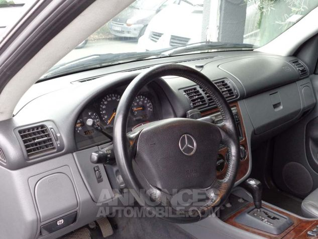 Mercedes Classe ML 320 LUXURY gris clair metal Occasion - 11