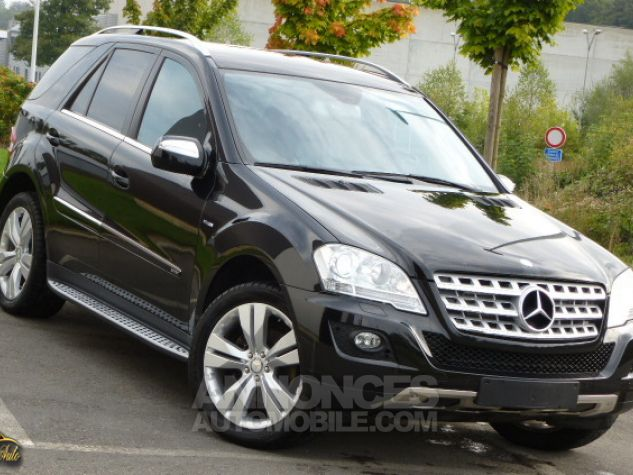 Mercedes Classe ML Mercedes-Benz ML350 211cv BlueTEC 4Matic 7G TRONIC Noir métallisé Occasion - 0