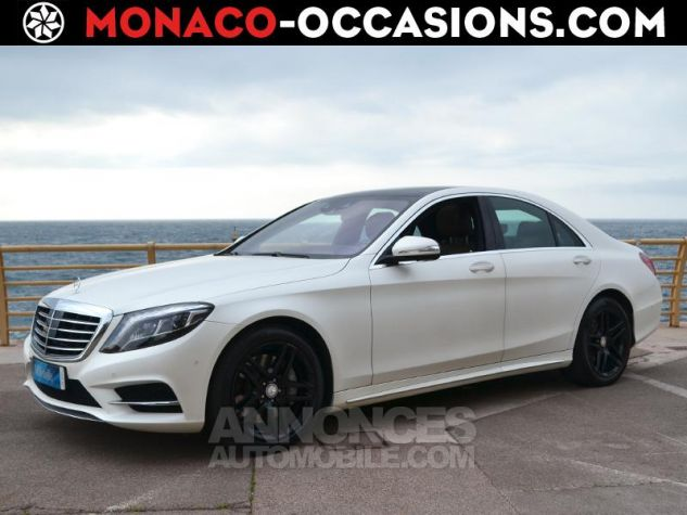 Mercedes Classe S 300 BlueTEC HYBRID Executive 7G-Tronic Plus Blanc Mat Occasion - 0