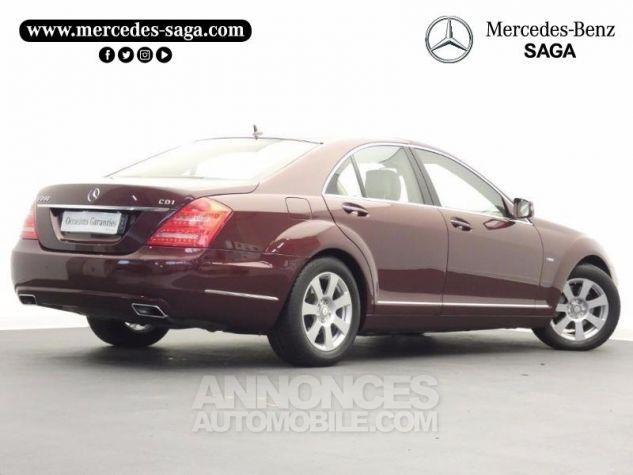 Mercedes Classe S 350 CDI BE 7GTro Rouge Cornaline Occasion - 1