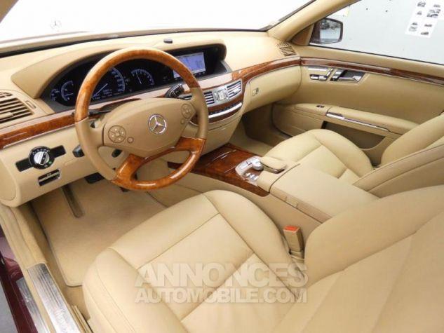 Mercedes Classe S 350 CDI BE 7GTro Rouge Cornaline Occasion - 3