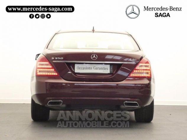 Mercedes Classe S 350 CDI BE 7GTro Rouge Cornaline Occasion - 6