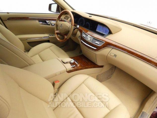 Mercedes Classe S 350 CDI BE 7GTro Rouge Cornaline Occasion - 7