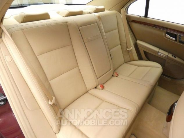 Mercedes Classe S 350 CDI BE 7GTro Rouge Cornaline Occasion - 14