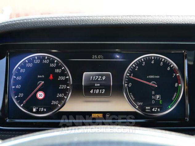 Mercedes Classe S 400 HYBRID 7G-Tronic Plus Noir Occasion - 12